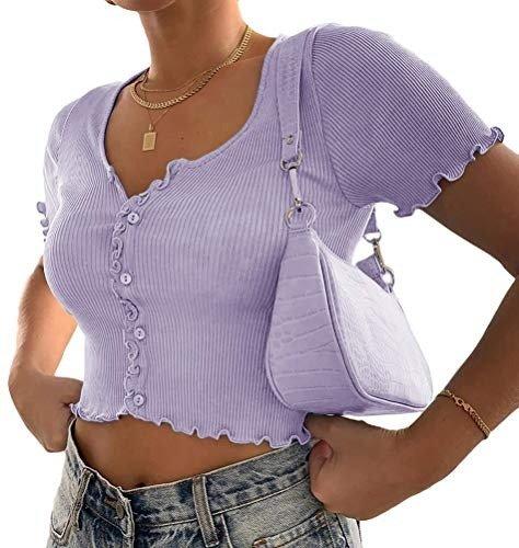 香芋紫针织衫