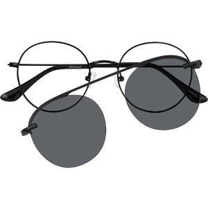 时尚镜框+吸铁式太阳眼镜片