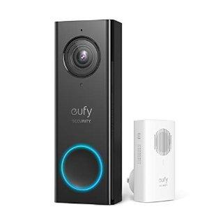 eufy 无线智能视频门铃套装 2K分辨率