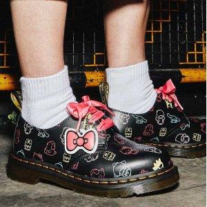 Dr. Martens最小36码3孔小皮鞋