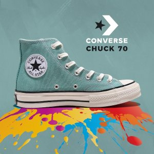 低至4.5折 €34.99起Converse 经典Chuck 70系列热买 马卡龙、黑白色都在线