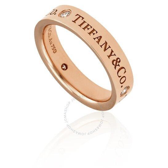18k玫瑰金戒指