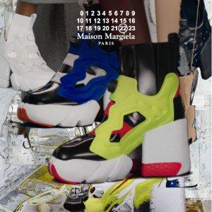 4种颜色 高跟款型敬请期待Maison Margiela x Reebok 联名曝光 收运动款网红分趾鞋