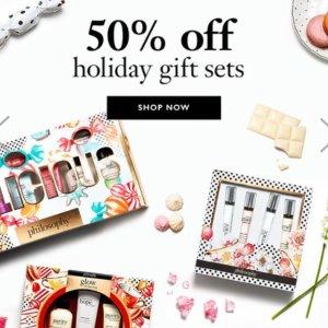 50% OffPhilosophy Holiday Gift Sets Sale