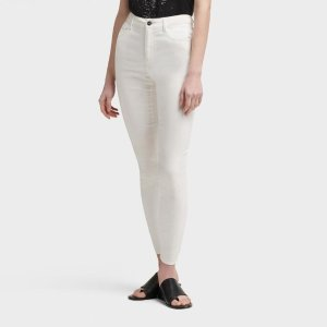 DKNYMID-RISE SKINNY ANKLE JEAN
