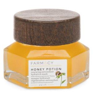 Farmacy买3件可享6.7折蜂蜜保湿面膜
