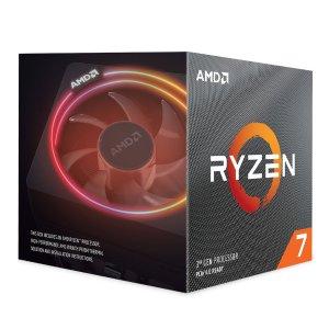 $279.99 搭配主板再省$20AMD Ryzen 7 3700X 8核 CPU 带Wraith Prism RGB散热器