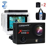Campark ACT74 Action Cam 16MP 4K WiFi Waterproof Sports Camera