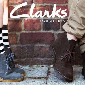 一律$99CLARKS 精选男女款英伦风美靴热卖