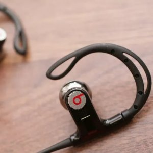 Factory Refurbished Powerbeats by Dr. Dre Black In-Ear Headphones