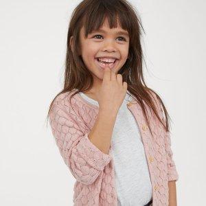 低至$2.99+额外8折折扣升级:H&M 儿童服饰、鞋履等大促