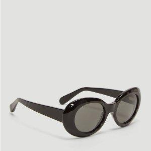 842b4d5f6b Acne StudiosWomen s Mustang Sunglasses in Black