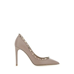 Valentino铆钉高跟鞋