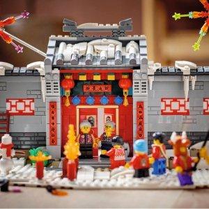 定价£59.99 收藏必备LEGO 年的故事80106已上线 满满过年氛围就看现在