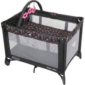 $39Graco Pack 'N Play with Automatic Folding Feet Playard, Priscilla @ Walmart