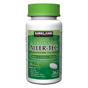 Kirkland Signature Aller-Tec, 365 Tablets