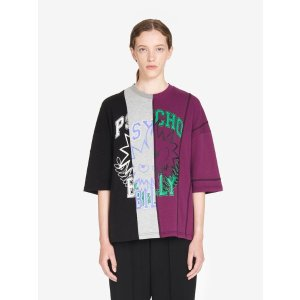 MCQ ALEXANDER MCQUEENPsycho Billy Monster Cut-Up T-Shirt
