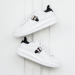 7.4折 粉色平底鞋€114Karl Lagerfeld 老佛爷美鞋热卖 收新配色平底鞋、小白鞋
