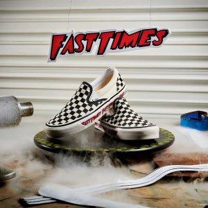 折扣区低至5折+额外7折VANS 潮流服饰鞋款热促 快来收街头潮人必备滑板鞋