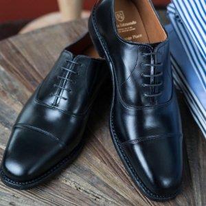 低至5折包邮Allen Edmonds 高档半定制手工商务男鞋大促