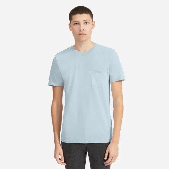 纯色口袋T恤 多色选