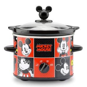 $28.25 (原价$49.98)Disney 迪士尼米老鼠 2夸脱慢炖锅  太可爱了