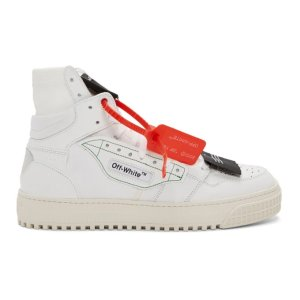 7a1a10cf3091de Off-White- White Low 3.0 Off-Court High-Top Sneakers