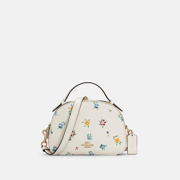 Serena 碎花手提袋