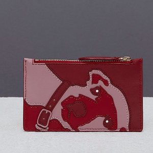 Diane von FurstenbergZip Top Card Case