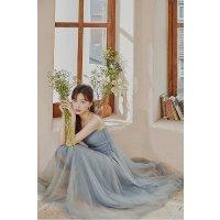 水蓝色芭蕾舞裙