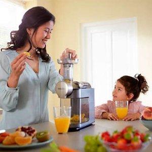 7折 收榨汁机、啤酒机、料理机Philips 精选厨房小家电热卖 在家就能做好喝的啤酒和果汁