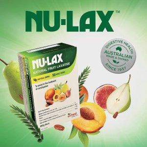 低至5折  轻松排毒排宿便NU-LAX 纯天然植物水果清肠系列