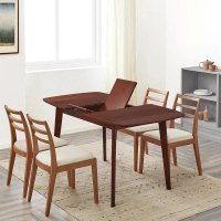 LIFEASE 北欧家用伸缩折叠餐桌
