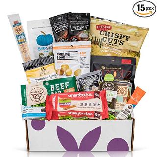 $38.87 (原价$48.59) 健康零食闪购:低碳水化合物KETO零食盒 15袋 不重样