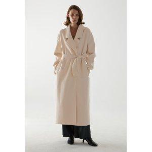 COS8折!码:CNY20MaxMara同版型羊毛大衣