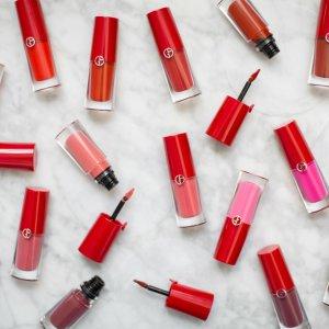 购任意两款唇部产品 送两只新款口红Giorgio Armani官网 全线口红、唇部产品热卖