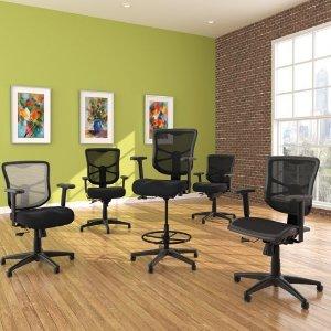 Alera Elusion 多功能高椅背办公椅 人工学设计多角度可调整