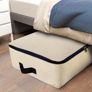 $13.99Lifewit 100升超大容量防尘被褥衣物收纳整理包