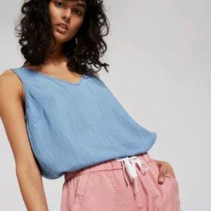 第2件半价 夏装囤起来Just Jeans 精选美衣、短裤热卖 Levi's、CK均参加
