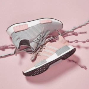 6折+包邮 短袖$15起最后一天:adidas 大童区 你还少一双美貌NMD $51收C80小白鞋