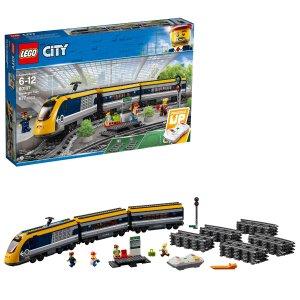 Lego城市系列 载人火车 60197