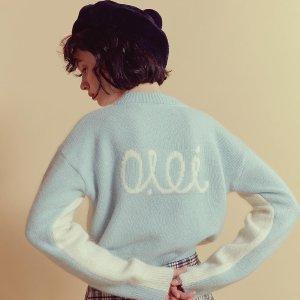 低至7折 €96收开衫毛衣O!Oi 新晋超人气韩国设计师品牌毛衣、针织衫折扣热卖