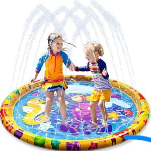 50% OffDealmoon Exclusive: JOYIN Sprinkler Splash Play Mat