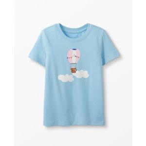 Hanna Andersson女童短袖T恤