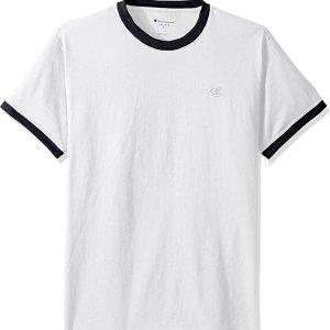 5.4折 $14.47(原价$26.99)Champion Classic 男子休闲运动T恤 多色可选