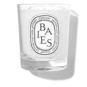 Diptyque满€125减€25 保加利亚玫瑰与黑醋栗浆果香氛蜡烛 190g