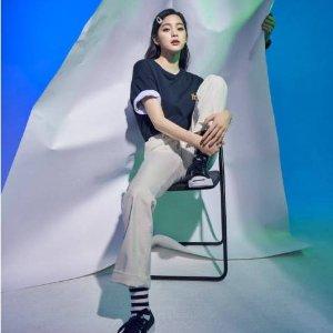 低至5折 €49.99收欧阳娜娜同款Converse官网 折扣大促区降价上新 近500件潮衣潮鞋参与