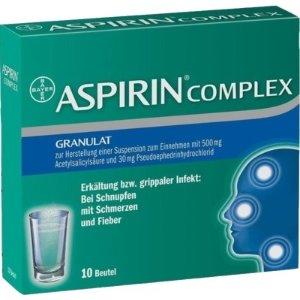 阿司匹林10片装