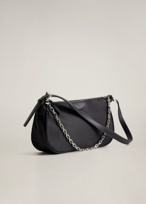 Chain baguette bag -  Women | Mango USA