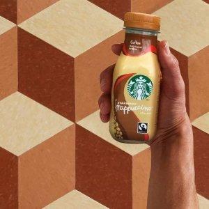 单瓶星冰乐仅£1.6Starbucks 星巴克即饮咖啡饮料大促 超多口味带回家